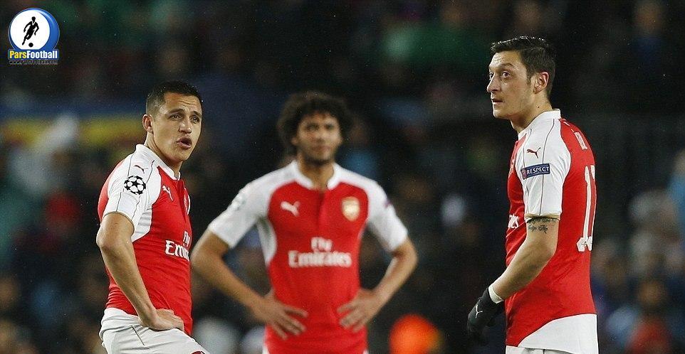 Barcelona. Arsenal 9