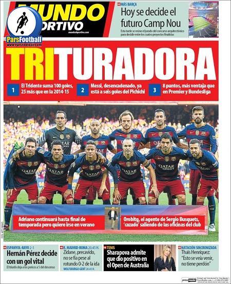 Mundo Deportivo.18Esfand