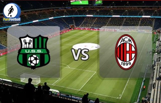 Sassuolo Vs AC-Milan