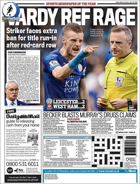 Dailymail Sport. 30Farvardin