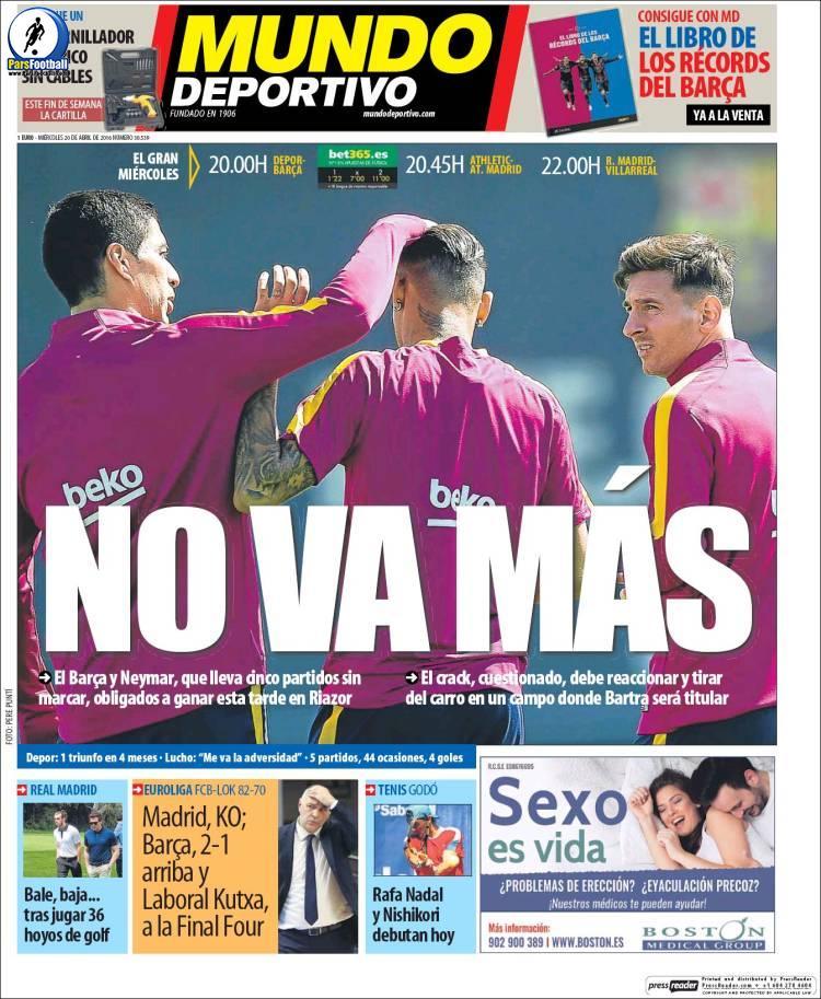 Mundo Deportiv. 1Ordibehesht