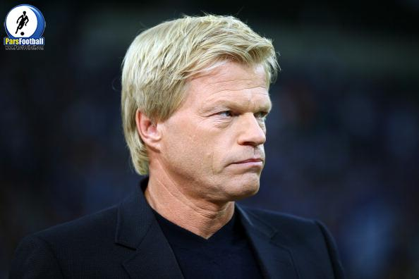 GELSENKIRCHEN, GERMANY - AUGUST 21:  Oliver Kahn looks on prior to the UEFA Champions League Play-off first leg match between FC Schalke 04 and PAOK Saloniki at Veltins-Arena on August, 21, 2013 in Gelsenkirchen, Germany.  (Photo by Christof Koepsel/Bongarts/Getty Images)