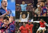 برترین گلزنان اروپا