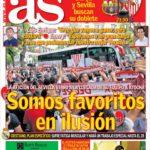 عناوین روزنامه آ.اس اسپانیا 2 خرداد 95