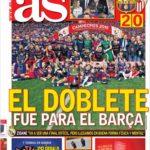 عناوین روزنامه آ.اس اسپانیا 3 خرداد 95