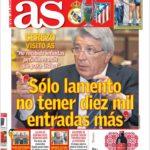 عناوین روزنامه آ.اس اسپانیا 5 خرداد 95
