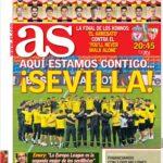عناوین روزنامه آ.اس اسپانیا28 اردیبهشت 95