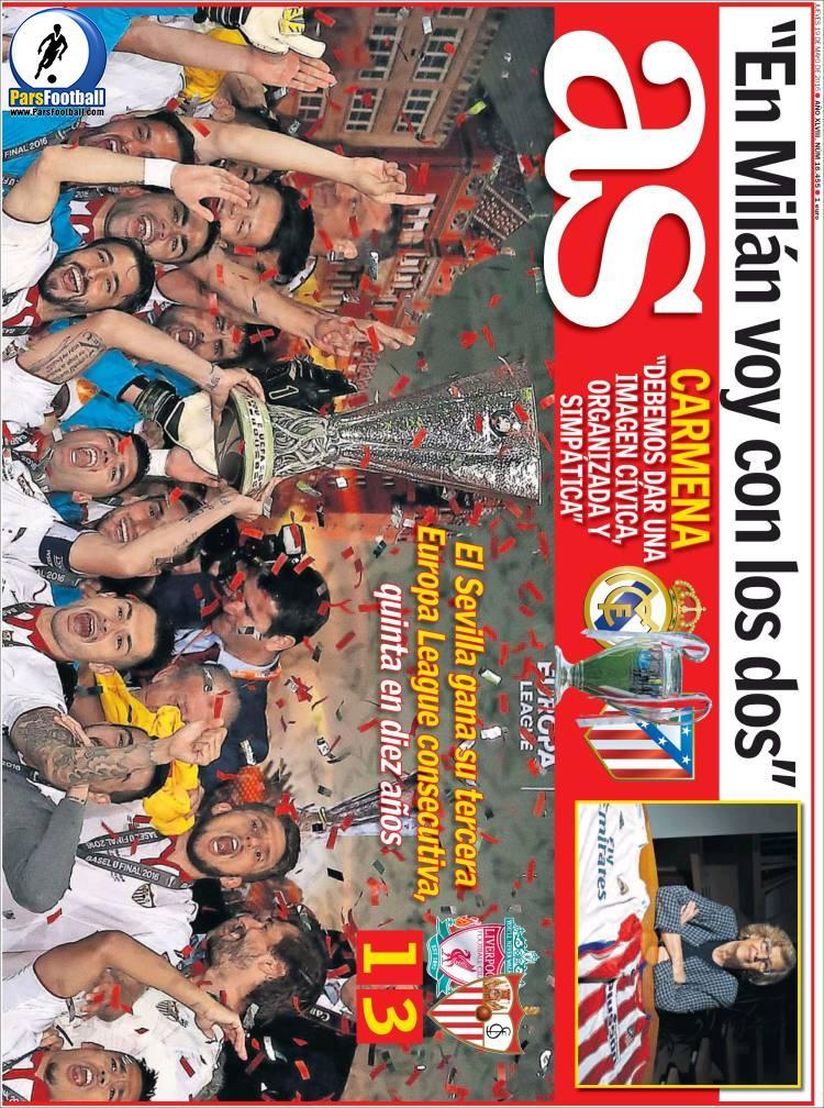 عناوین روزنامه آ.اس اسپانیا30 اردیبهشت 95