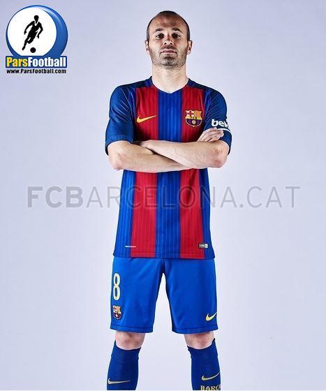 پیراهن بارسلونا