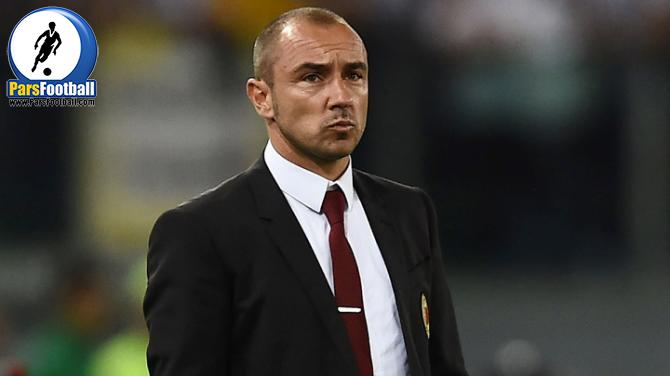 AC Milan's coach from Serbia Cristian Brocchi looks on during the Italian Tim Cup final football match AC Milan vs Juventus on May 21, 2016 at the Olympic Stadium in Rome.   AFP PHOTO / FILIPPO MONTEFORTE / AFP / FILIPPO MONTEFORTE        (Photo credit should read FILIPPO MONTEFORTE/AFP/Getty Images)