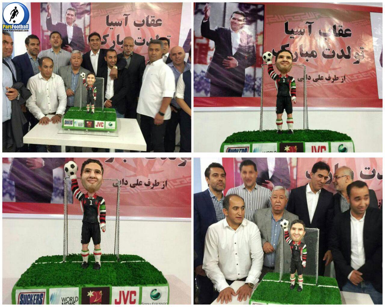 کیک 50 سالگی عابدزاده