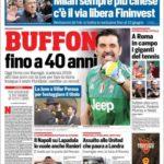 عناوین روزنامه کوریره دلو اسپورت ایتالیا 22 اردیبهشت 95