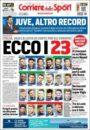 عناوین روزنامه کوریره دلو اسپورت ایتالیا 11 خرداد 95