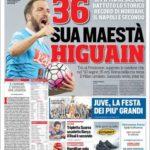 عناوین روزنامه کوریره دلو اسپورت ایتالیا 26 اردیبهشت 95