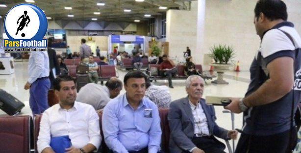 کاروان استقلال در فرودگاه مهرآباد