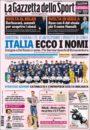عناوین روزنامه گازتا دلو اسپورت ایتالیا 11 خرداد 95