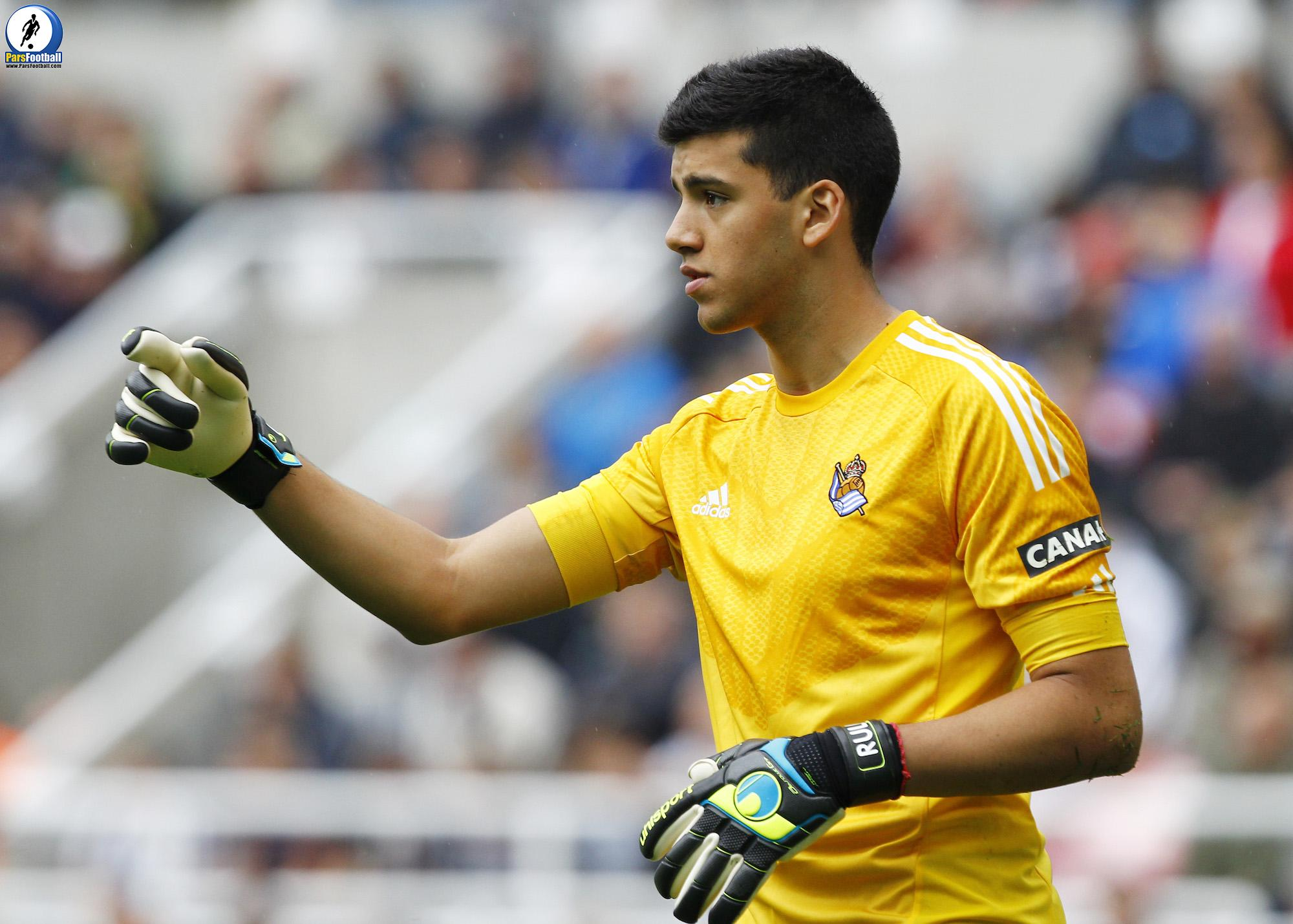 Football - Newcastle United v Real Sociedad - Pre Season Friendly - St James' Park - 14/15 - 10/8/14 Geronimo Rulli - Real Sociedad    Mandatory Credit: Action Images / Craig Brough  EDITORIAL USE ONLY.