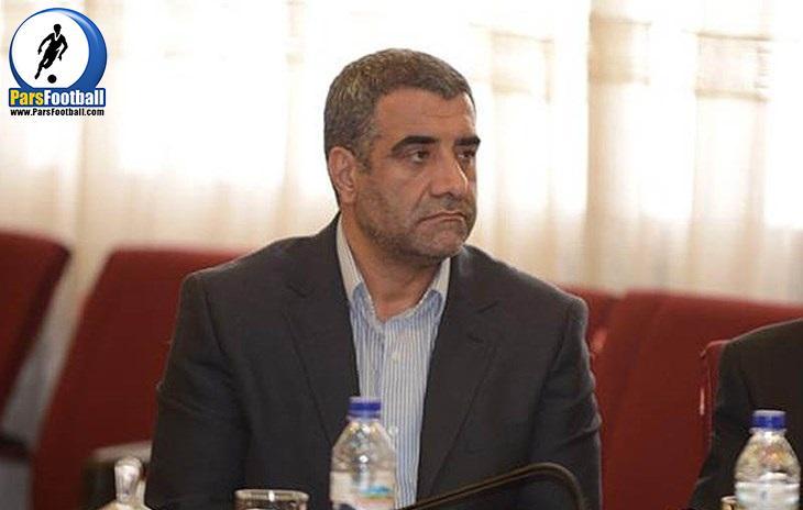 رضا حسنی خو - حراست وزارت ورزش