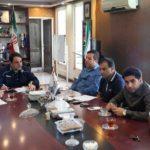 جلسه مسئولین و مربیان تیمهای پایه پیکان با حضور جلالی
