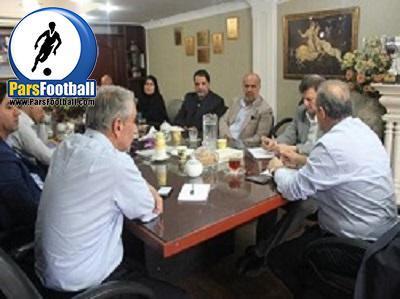 جلسه سازمان لیگ