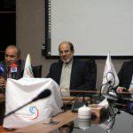 مهدی تاج در مراسم رونمایی از مدال های قهرمانی جام حذفی