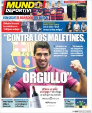 عناوین روزنامه ال موندو دپورتیوو اسپانیا 24 اردیبهشت 95