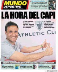 عناوین روزنامه ال موندو دپورتیوو اسپانیا 22 اردیبهشت 95