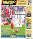 عناوین روزنامه ال موندو دپورتیوو اسپانیا 23 اردیبهشت 95 را مرور خواهیم کرد