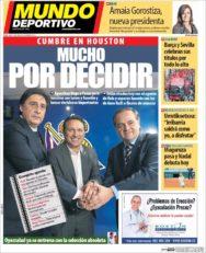 عناوین روزنامه ال موندو دپورتیوو اسپانیا 4 خرداد 95