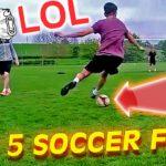اشتباهات فوتبالی