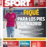 عناوین روزنامه اسپورت اسپانیا 30 اردیبهشت 95
