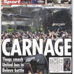 عناوین روزنامه سان اسپورت انگلیس 22 اردیبهشت 95
