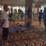 نخستین تمرین تیم ملی در هتل برگزارشد
