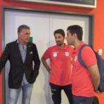 تیم ملی فوتبال ایران وارد مقدونیه شد