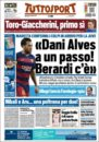 عناوین روزنامه توتو اسپورت ایتالیا11 خرداد 95