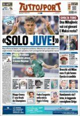 عناوین روزنامه توتو اسپورت ایتالیا 29 اردیبشت95