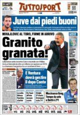 عناوین روزنامه توتو اسپورت ایتالیا 30 اردیبشت95