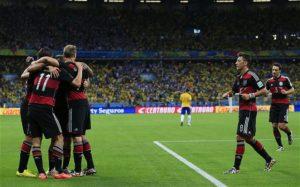 پیروزی آلمان مقابل برزیل در جام جهانی ۲۰۱۴