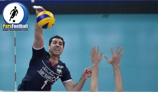 والیبال ایران و آرژانتین
