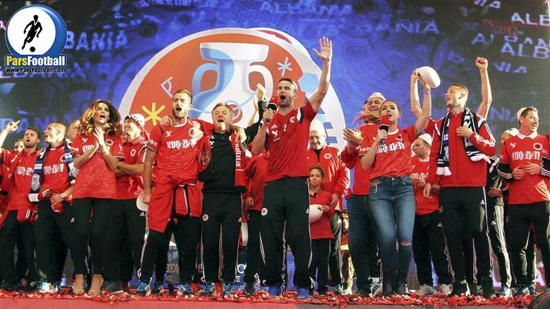 albania team football