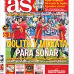 عناوین روزنامه آ.اس اسپانیا 13 خرداد 95