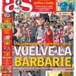 عناوین روزنامه آ.اس اسپانیا 23 خرداد 95