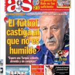 عناوین روزنامه آ.اس اسپانیا 28 خرداد 95
