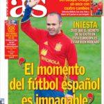 عناوین روزنامه آ.اس اسپانیا 31 خرداد 95