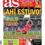 عناوین روزنامه آ.اس اسپانیا 2 تیر 95
