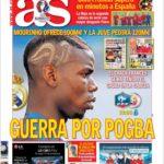 عناوین روزنامه آ.اس اسپانیا 21 خرداد 95
