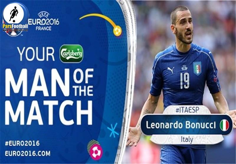 بهترین بازیکن جدال ایتالیا و اسپانیا