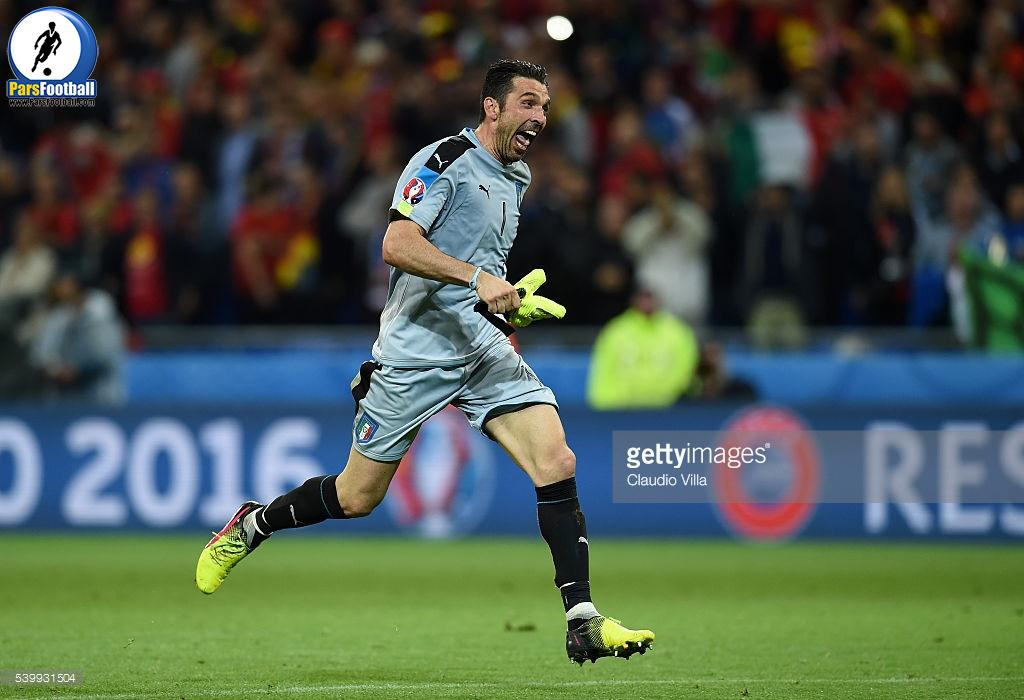during the UEFA EURO 2016 Group E match between Belgium and Italy at Stade des Lumieres on June 13, 2016 in Lyon, France.