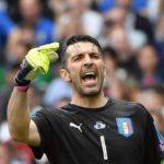 واکنش بوفون به پیروزی ایتالیا