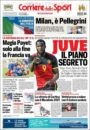 عناوین روزنامه کوریره دلو اسپورت ایتالیا 22 خرداد 95